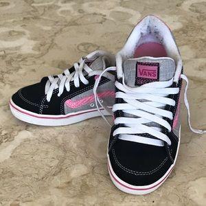 Vans Old Skool Leather & Canvas Sneakers